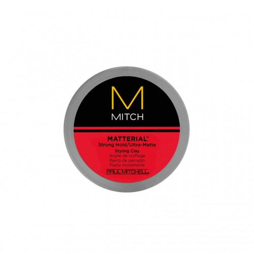 Mitch Matterial >> Paul Mitchell: MITCH Matterial Styling Hair Clay (3 OZ)